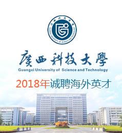 广西科技大学2018年诚邀海外优秀人才加盟